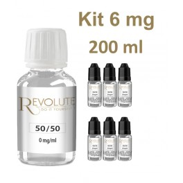 kits TPD-Ready DIY Revolute 6 mg 200 ml